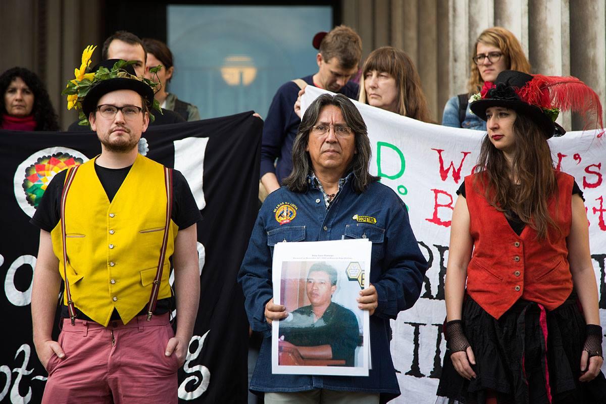 Mandato Judicial Del Corte En Londres Termina El Litigio Contra BP- Declaración Por Gilberto Torres